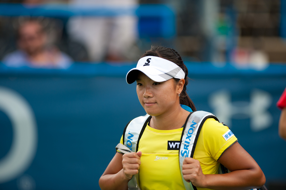 Kurumi Nara at the Citi Open Tournament in Washington DC, Photo: Rena Schild, shutterstock