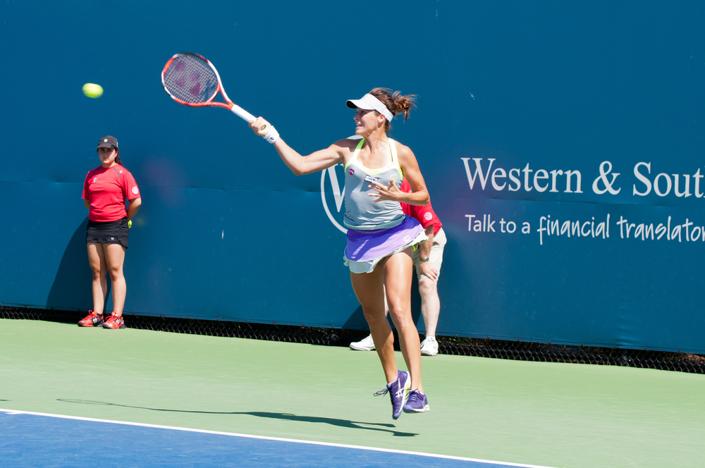 Tatjana Maria returns in at the Western and Southern Open, Photo: jctabb, Shutterstock